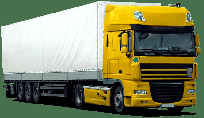 Ein Truck einer Spedition die mit Saloodo! kooperiert.