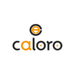 A logo of Caloro.