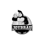 A logo of JoyBräu.