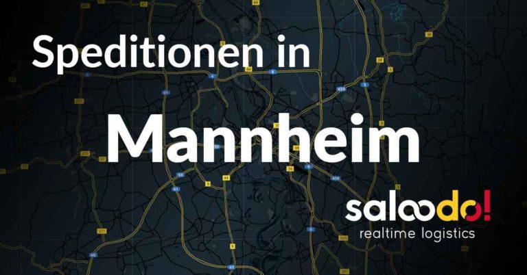 Speditionen in Mannheim