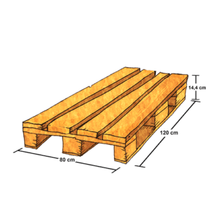 Ship pallets of any dimensions with Saloodo!