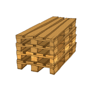 With Saloodo! you can ship pallets stacked together.