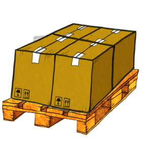 Shipping large items on a pallet with Saloodo!