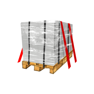 It's easier shipping large items with Saloodo! when the goods are secured on a pallet