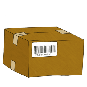 Shipping large items with a Saloodo! barcode
