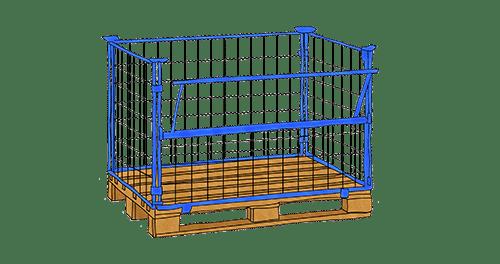 mesh box pallet