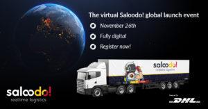 Hier registrieren für den weltweiten Launch der Saloodo! Frachtplattform