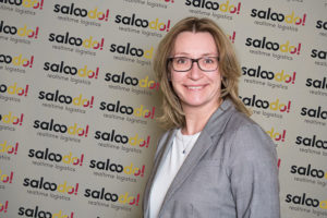 Antje Huber new CEO of the digital road freight platform Saloodo!