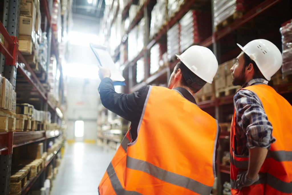 Expert shows other man possibilities for warehouse optimisation, because some tasks in companies should be done by external professionals.