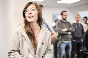 Nadine Bongartz (Team Lead Carrier Management)
