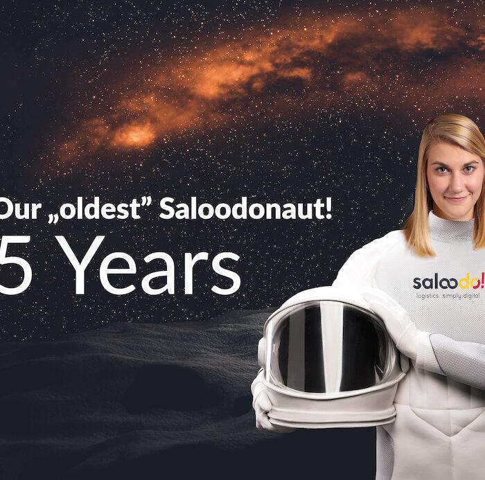 """Unsere """"älteste"""" Saloodonautin feiert 5 Jahre Saloodo!"""