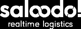 The Saloodo! logo white.